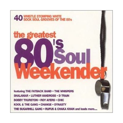 The Greatest 80's Soul Weekender - 40 Whistle Stomping White Sock Soul Grooves