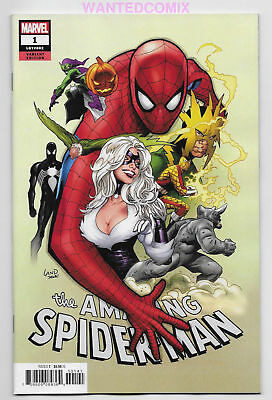 Amazing Spider-Man 1 Land Party Variant Cover 2018 Ryan Ottley Marvel Comic Book