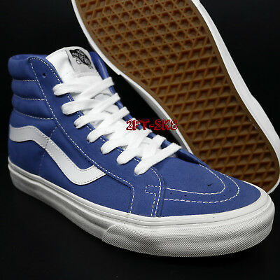 bc4d53d1ca71e1 Vans Sk8-Hi Retro Sport Delft Blue Men s High Top Skate Shoes   s84202