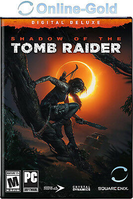 Shadow of the Tomb Raider Digital Deluxe Edition - PC Steam Digital Download Key