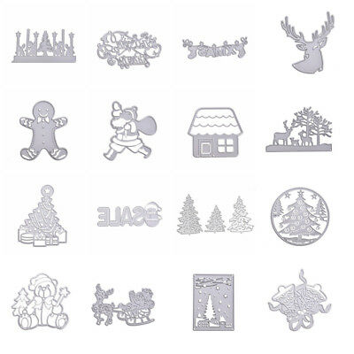 Metal Cutting Dies DIY Paper Card Album Embossing Stencil Craft Scrapbook Xmas