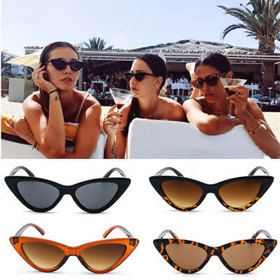 Unisex Womens Mens Retro Vintage Cat Eye Round Glasses Fashion Sunglasses ST