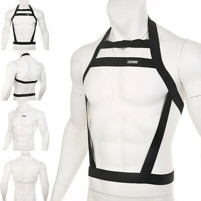 Men's Night Wear Body Chest Harness Bondage Lingerie Club Party Costumes Novelty