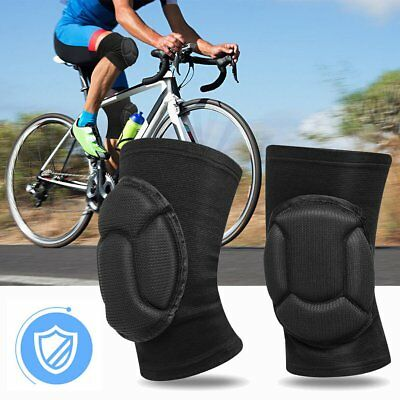 1 Pair S/M/L Knee Pads For Dance Ballet Gym All Sports Black Protector Soft Pads
