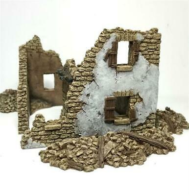 STONE HOUSE RUINS Battle Scale Buildings 20mm scale 20B001