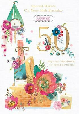 50Th Birthday Card Female Daughter In Law Wife Friend Sister Mum