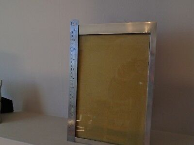 "Beautiful Mappin & Webb Large 12.5"" 1924 Hallmarked Silver Photo Frame"
