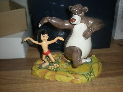 Royal Doulton Disney Showcase The bare / Bear Neccessities From  Jungle Book DM6