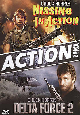 Missing in Action / Delta Force 2 DVD Double Feature Chuck Norris - NEW