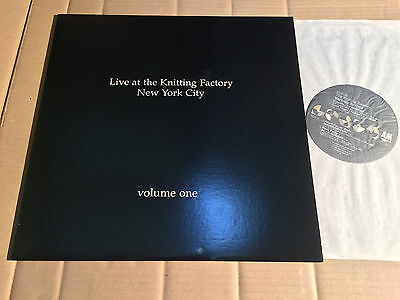 V/a - Live At The Knitting Factory New York City Volume One - Lp - A&m Sp 5242