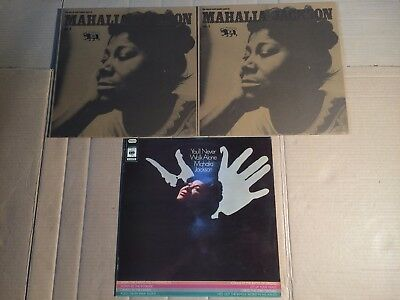 Mahalia Jackson - Warm And Tender Soul Of Vol. 1 + 2 / You'll Never Walk  - 3 Lp