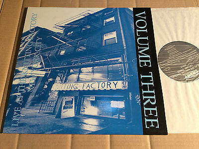 V/a - Live At The Knitting Factory New York City Volume Three - Lp - Emy 113