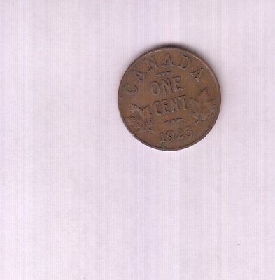 1925 Canada 1 Cent Coin