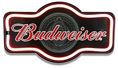 BUDWEISER LED Light Sign Neon Look Vintage Style