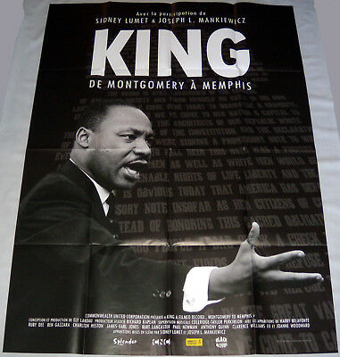 KiNG: A FiLMED RECORD MONTGOMERY TO MEMPHiS martin Luther LARGE French POSTER