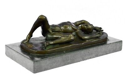 Nude Male Statue Man Sculpture Gay Art  Bronze Figure Male Art Figurine Hot Cast