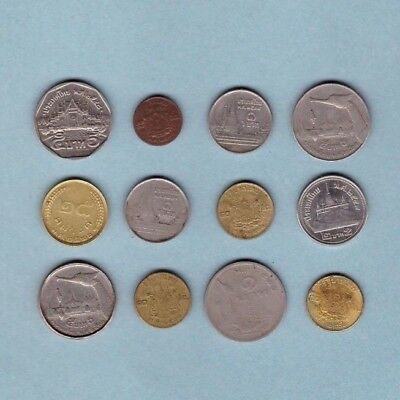 Thailand - Coin Collection - Lot # A-10 - World/Foreign/Asia