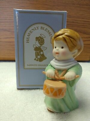 Avon Heavenly Blessings Nativity Collection Drummer Boy