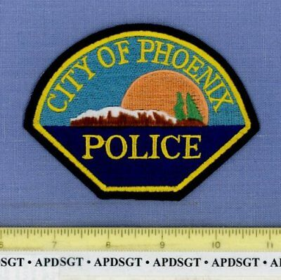 PHOENIX OREGON OR Sheriff Police Patch FULL MOON OVER MOUNTAIN