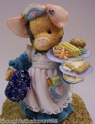 This Little Piggy SERVING US THE SLOP 167703 NIB * FREE USA SHIPPING