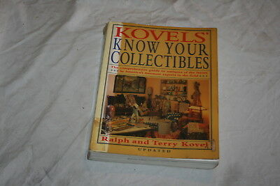 Kovel's Know Your Collectibles by Ralph and Terry Kovel