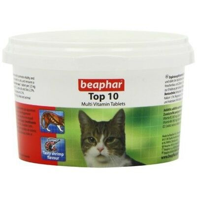 Beaphar Top 10 Cat Vitamin 180 Tablets