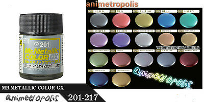 MR HOBBY Color Gunze LACQUER Series GX 100 + MODEL KIT PAINT 18ml New Free Ship