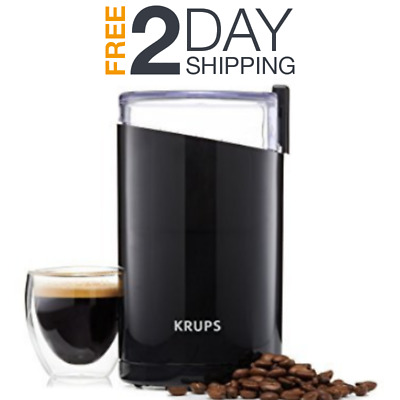Electric Coffee Bean Chopper Stainless Steel Grinder Spice Nut Herb French Press