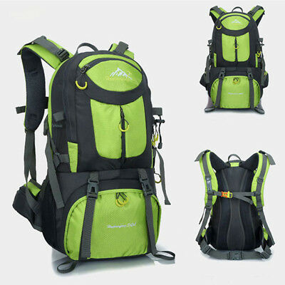 3d0dd60f06 50L Waterproof Backpack Shoulder Hiking Bag Pack Outdoor Camping Travel  Rucksack