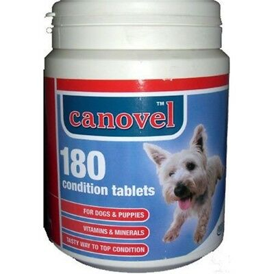 Canovel Dog & Puppy Condition Vitamin 180 Tablets