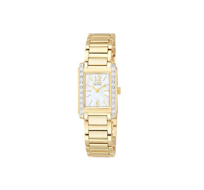 Citizen Women's EW9462-52D Eco-Drive Palidoro Diamond Watch Gold Tone