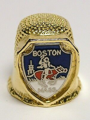 Fingerhut Thimble aus Metall - Boston