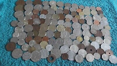 JOB LOT OF135 BRITISH COMMONWEALTH COINS 99p  135 DD K
