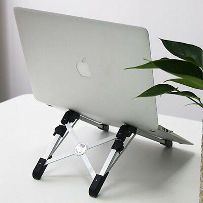 Foldable Laptop Desk Stand Holder Adjustable Portable Tablet Notebook iPad Mount
