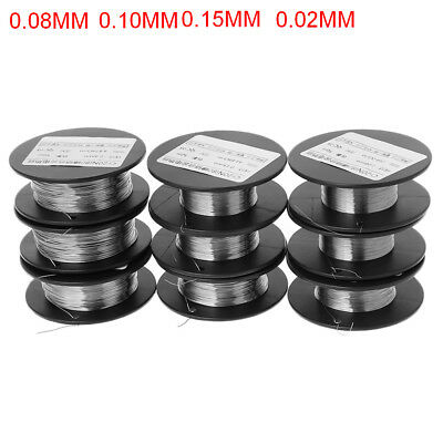 50m 0.1-0.45mm Cr20Ni80 Alloy Nickel-chromium Wire 2080 Resistance Heating Wires