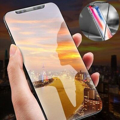 6D Screen Protector For iPhone XR XS MAX X 8 Curved Full Coverage Tempered Glass