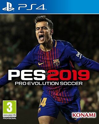 Pes 2019 (Ps4) Brand New And Sealed - In Stock - Quick Dispatch
