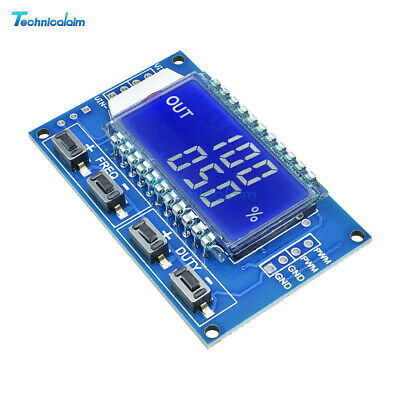 Signal Generator PWM Pulse Frequency Duty Cycle Square Wave Adjustable Module