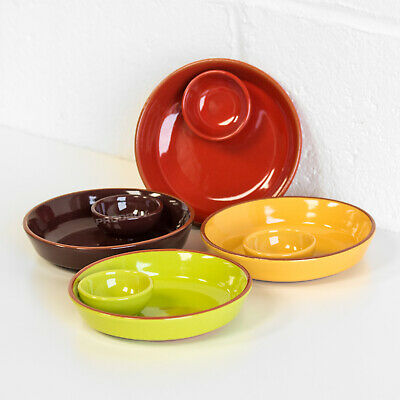 Set of 4 Traditional Tapas Olive Bowls Dishes Cazuelas Spanish Serving Dishes