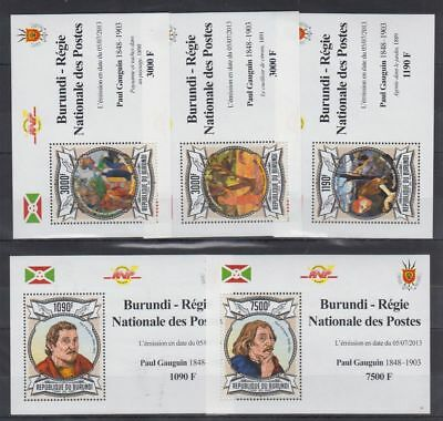 Europa Manama 1970 The Life Of Michelangelo Paintings Religion Pope Paul Deluxe Mnh