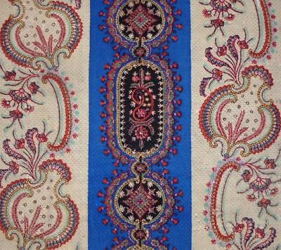 NEW AUTUMN STOCK: EARLY TO MID 19th CENTURY FRENCH PAISLEY BLOCK PRINT 101.