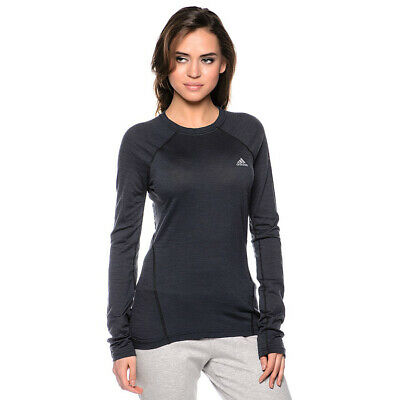 adidas Baselayer Damen langarm Ski-Unterziehshirt Outdoorshirt Trainingsshirt