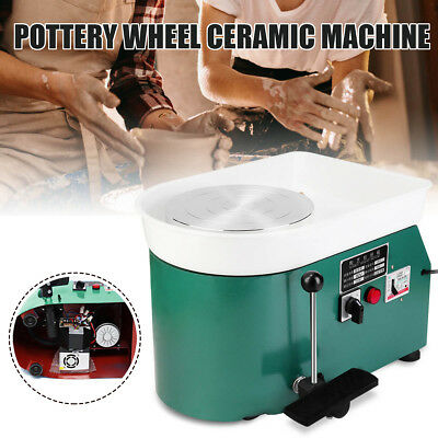 250W Electric Pottery Wheel Machine For Ceramic Work Clay Art DIY Craft 110V