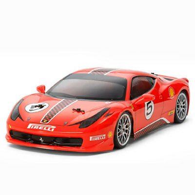 New Genuine Tamiya Ferrari 458 Challenge Body Parts For Most 1/10 TT02/TT01/TL01