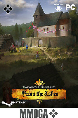 Kingdom Come Deliverance From the Ashes - Steam Key PC Code DLC [Action] [EU/DE]
