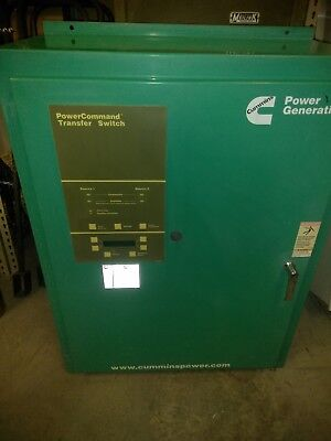 Cummins Transfer Switch 225amp 1 or 3 phase