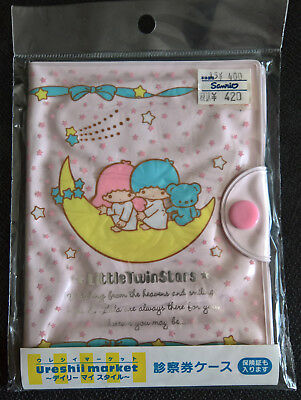 Little Twin Stars ID Card Ticket Pass Case Sanrio Official Japan