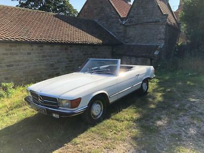 1971 Mercedes-Benz 350 SL Convertible with Hardtop - CLASSIC !!