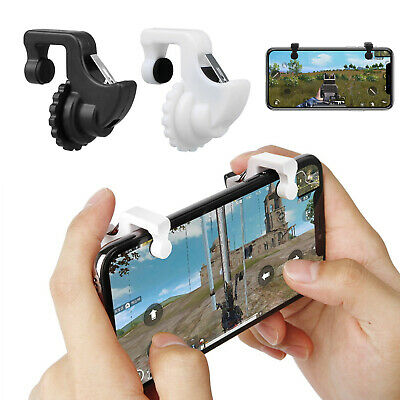 2pcs Phone Mobile Gaming Trigger Fire Button Handle for Shooter Controller PUBG