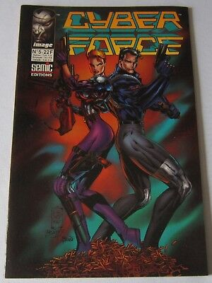 CYBER FORCE - N° 05 - Edition Image SEMIC Comics 1996